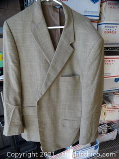 Platinum Series Tan Dress Coat XXL
