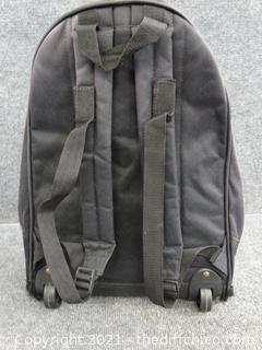 Transport Rolling Backpack See pics