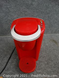 Red Working Keurig Coffee Maker