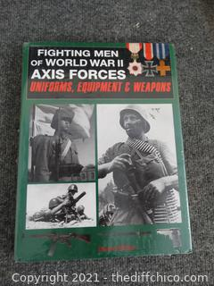 Sealed Fighting Men Of WWII Axis Forces Book