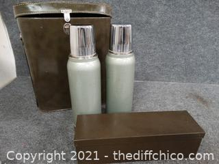 Military Thermos Set