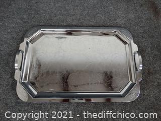 Silver Colored Tray