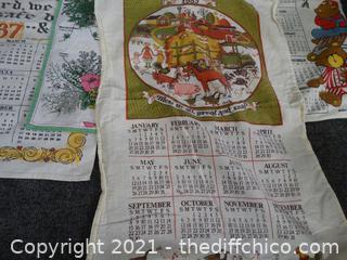 Cloth Calendars