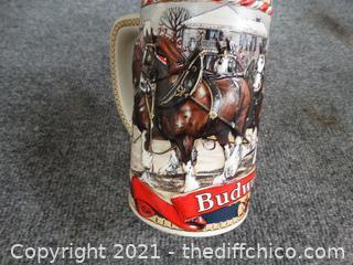 Budweiser Beer Stein