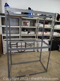 Metal Storage Rack Shelf T-6FT - W- 4'- D-2FT