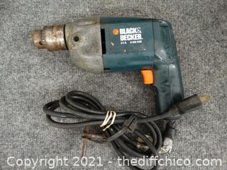 Black & Decker Electric Drill wks
