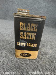 Black Satin Stove Polish