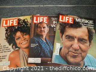 1972-Life Magazines