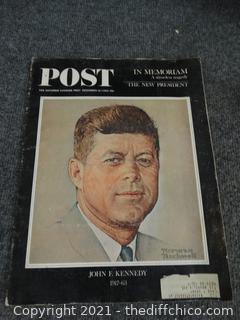 Post Kennedy Magazine Dec, 14 1963