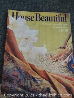 March 1962 House Beautiful Magazine