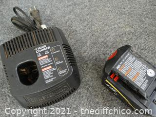 Battery Charger & Battery