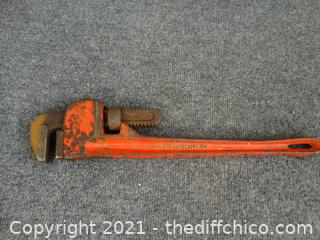 """Pittsburgh 18"""" Pipe Wrench"""