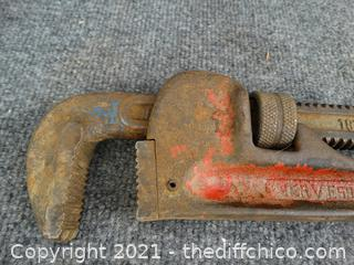 """Servess  Heavy Duty 18"""" Pipe Wrench"""