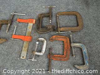 Mixed C-Clamps