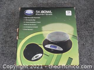 5K Kitchen Bowl Scale