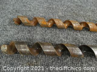 "17"" Wood Auger Bits"