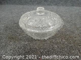 Glass Dish With Lid