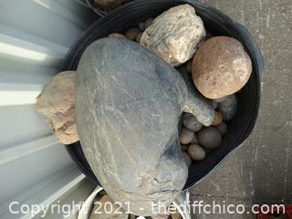 Bucket Of Rocks