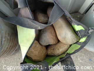 Green Bag Of Rocks
