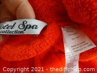 Red/Orangeish Robe NEW