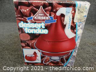 Hersey Kiss Fondue Set
