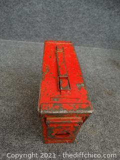 Red Ammo Box