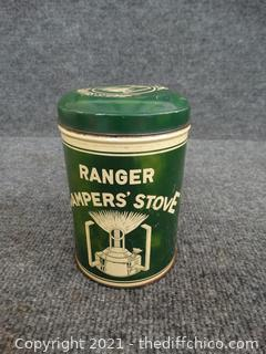 Ranger Campers Stove