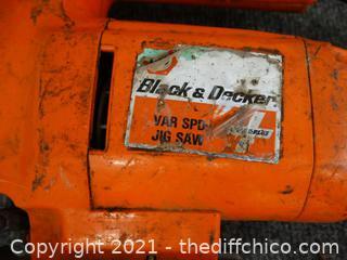 Black & Decker Jig Saw wks