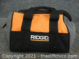 "Ridgid Tool Bag 13"" x 11"""