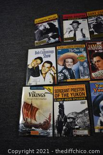 over 21 DVD Movies