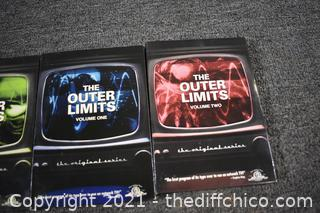 The Outer Limits Volume 1-3 DVD's