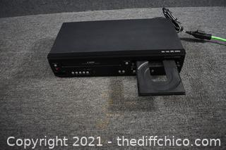 Sony VHS/DVD Player - powers up