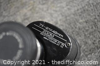 Tasco Binoculars w/case