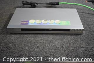 Sony DVD Player - powers up