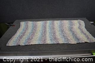Hand Made Throw - 45in x 26in