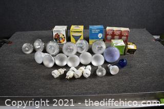 Lot of Light Bulbs