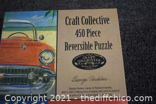 NIB 450 Piece Reversible Puzzle