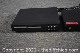Turner plus DVD Player-power up