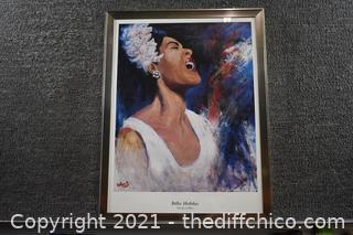 Framed Billie Holiday