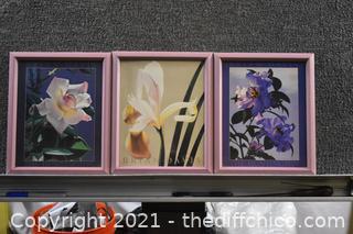 3 Brian Davis Framed Prints