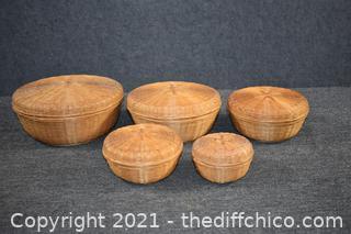 5 Nesting Baskets