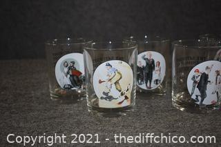 8 Norman Rockwell Glasses