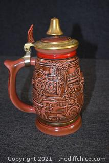 American Fire Fighters Stein