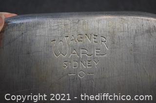 Wagner Ware w/lid #4267-M