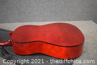 Lauren Guitar Model LA 100 w/cover