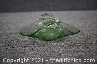 Glass Dish w/handles