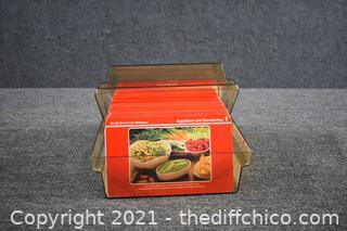 Vintage Recipe Box plus Recipes
