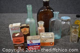 Bottle and Tin Collection