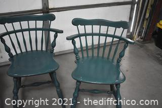 4 Ethan Allen Chairs