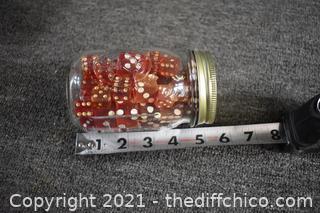 Jar of Red Dice